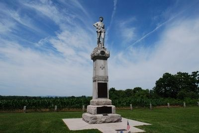 14th New Jersey Monument image. Click for full size.