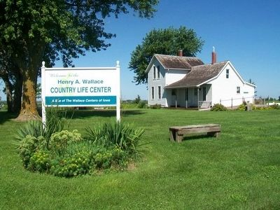 Henry A. Wallace Birthplace at the Country Life Center image. Click for full size.