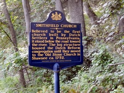 Smithfield Church Marker image. Click for full size.
