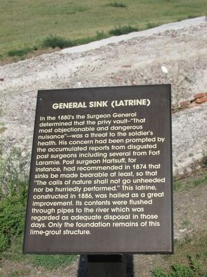General Sink (Latrine) Marker image. Click for full size.