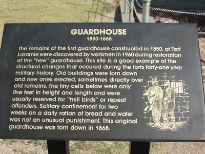 Guardhouse Marker image. Click for full size.