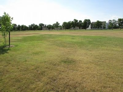 Fort Laramie's Parade Ground image. Click for full size.