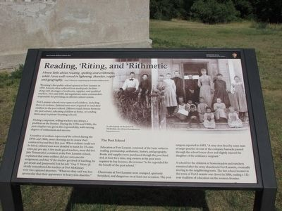 Reading, 'Riting, and 'Rithmetic Marker image. Click for full size.