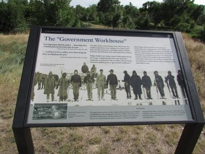 "The ""Government Workhouse"" Marker image. Click for full size."