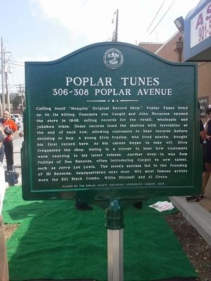 Poplar Tunes Marker image. Click for full size.