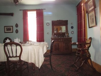 Dining Room in the Surgeon's Quarters image. Click for full size.