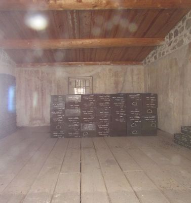 Inside the Magazine at Fort Laramie image. Click for full size.