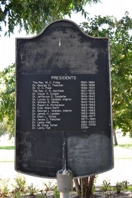 Hardin-Simmons University Marker image. Click for full size.