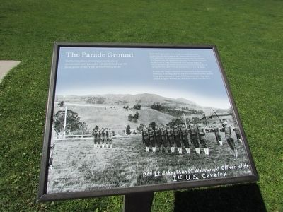 The Parade Ground Marker image. Click for full size.