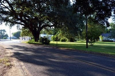 View to West Along Caddo Street image. Click for full size.