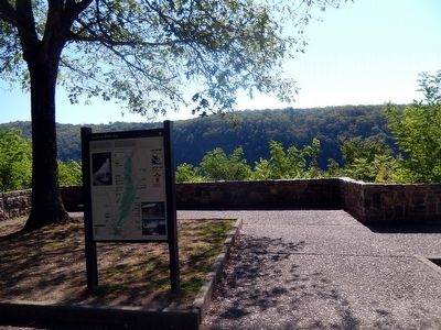 Delaware Water Gap Marker image. Click for full size.