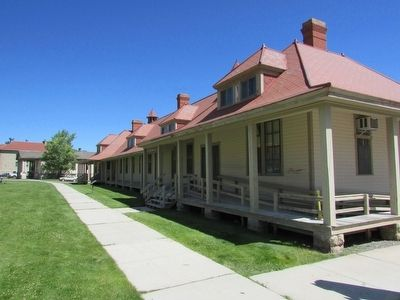 Cavalry Barracks at Fort Yellowstone image. Click for full size.