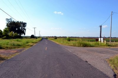 View to North Along State Highway 3049 image. Click for full size.
