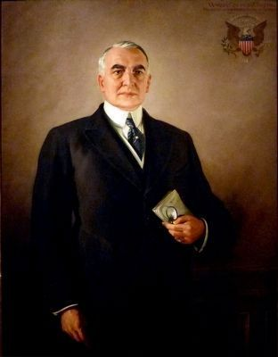 Warren G. Harding image. Click for full size.