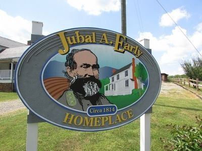 Jubal A. Early Homeplace image. Click for full size.