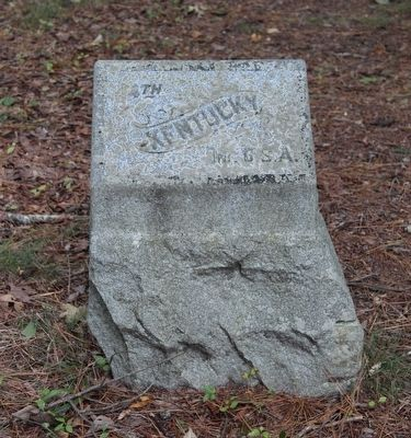4th Kentucky Infantry Marker image. Click for full size.