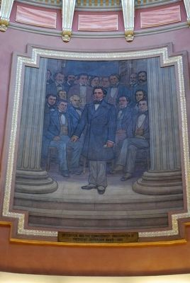 Davis Mural, Alabama State Capitol image. Click for full size.