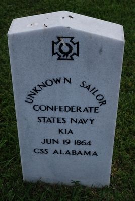 Unknown Sailor CSS Alabama image. Click for full size.