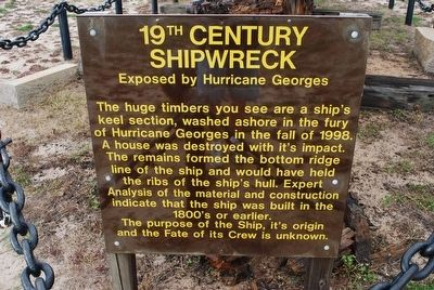 19th Century Shipwreck Marker image. Click for full size.