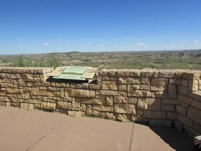 Marker at the Painted Canyon image. Click for full size.