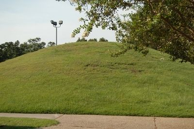 LSU Campus Mounds image. Click for full size.