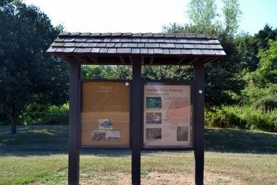 Origin of the Natchez Trace Marker image. Click for full size.