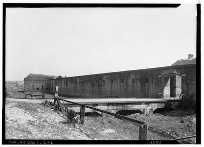 Fort Gaines 1933 image. Click for full size.