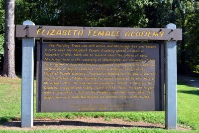 Elizabeth Female Academy Marker image. Click for full size.