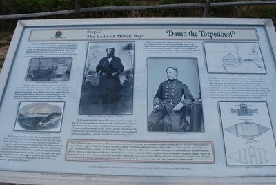 """Damn the Torpedoes!"" Marker image. Click for full size."