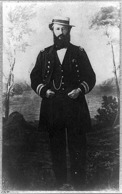 Commander Tunis Craven, USN, Captain of Tecumseh image. Click for full size.