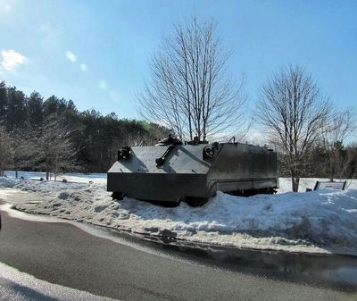 M59 Armored Personnel Carrier Marker image. Click for full size.