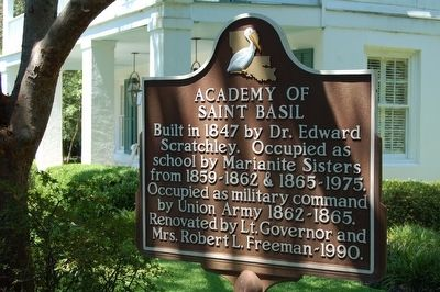 Academy of St. Basil Marker image. Click for full size.
