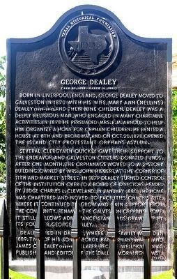 George Dealey Marker (restored) image. Click for full size.
