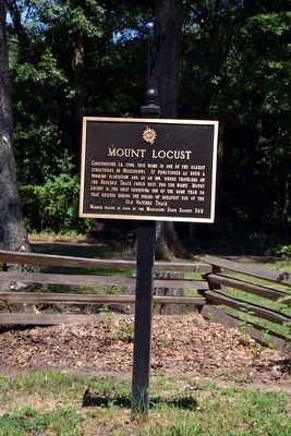 Mount Locust Marker image. Click for full size.