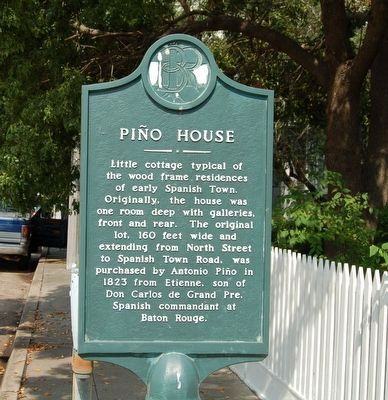 Piño House Marker image. Click for full size.