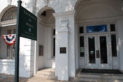 The Museum of Mobile Entrance image. Click for full size.
