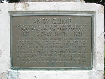 Andy Gump Marker image. Click for full size.