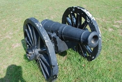 Battle of Blakeley Cannon image. Click for full size.