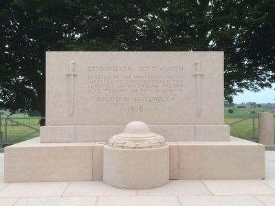 Kemmel American Monument image. Click for full size.