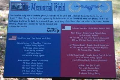 The Memorial Field Marker image. Click for full size.