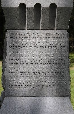18th US Infantry Marker image. Click for full size.