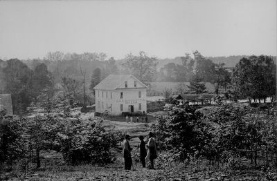 Lee and Gordon's Mills, Chickamauga Battlefield, Tenn image. Click for full size.