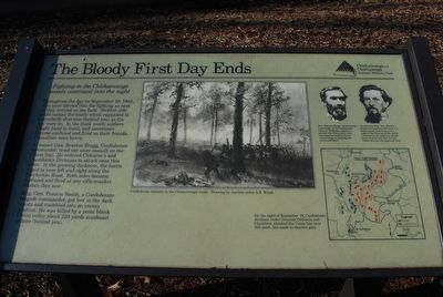 The Bloody First Day Ends Marker image. Click for full size.