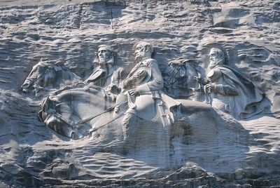 Stone Mountain Carving image. Click for full size.