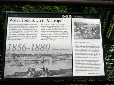 Waterfront Town to Metropolis Marker image. Click for full size.
