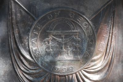 Georgia State Seal image. Click for full size.