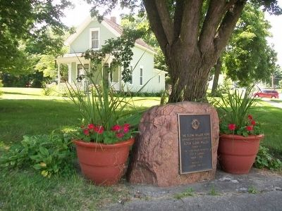 The Glenn Miller Home and Marker image. Click for full size.