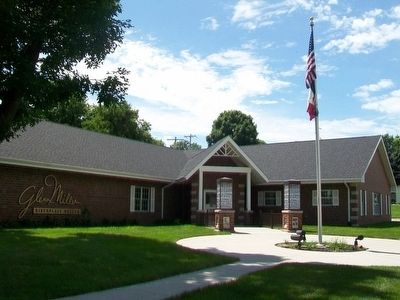 Glenn Miller Birthplace Museum image. Click for full size.