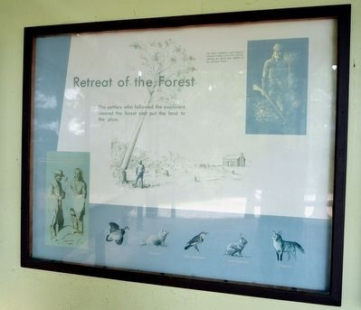 Retreat of the Forest Marker image. Click for full size.
