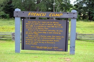 French Camp Marker image. Click for full size.